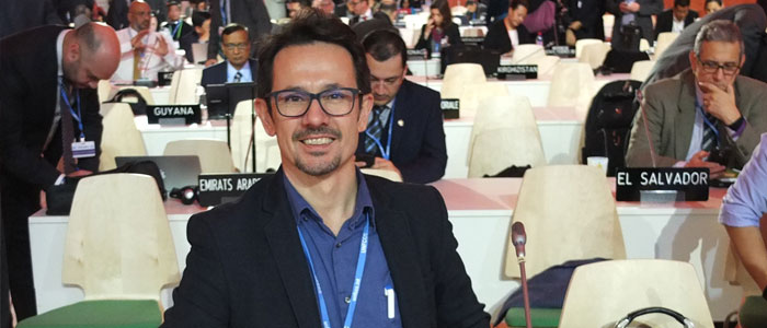 Radoslav Dimitrov at UN Climate Change Conference